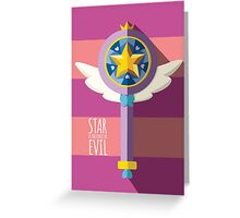 Star vs The Forces of Evil Greeting Card