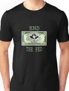 End the fed monopoly guy Unisex T-Shirt