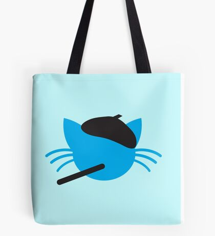 French cigarette smoking cat- Le CAT Tote Bag