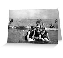 Scarborough Beach - July 1927 Greeting Card