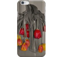 Tulips - Wilted and Still Beautiful iPhone Case/Skin