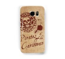 Pirates of the Caribbean Medallion Samsung Galaxy Case/Skin