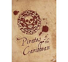 Pirates of the Caribbean Medallion Photographic Print