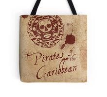 Pirates of the Caribbean Medallion Tote Bag