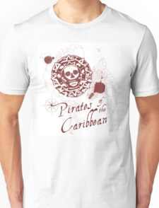 Pirates of the Caribbean Medallion Unisex T-Shirt