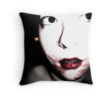 Traces. Throw Pillow
