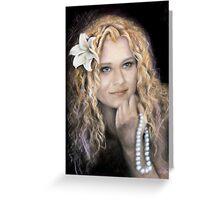 Steffi mermaid Greeting Card