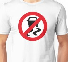 Traction Control OFF = Fun ON Unisex T-Shirt