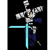 trigun hellsing ultimate alexander anderson nicholas d wolfwood anime manga shirt Photographic Print