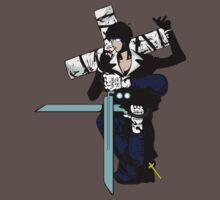 trigun hellsing ultimate alexander anderson nicholas d wolfwood anime manga shirt by ToDum2Lov3