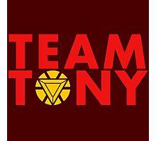 Team Tony Photographic Print