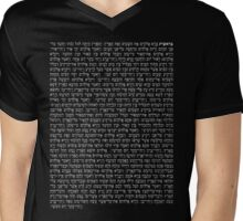Bərešith - In The Beginning (Genesis 1) Mens V-Neck T-Shirt