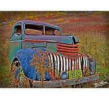 Ghost Truck Photographic Print
