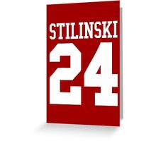 Teen Wolf – Stilinski 24 Greeting Card