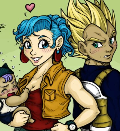 Vegebul Family Sticker