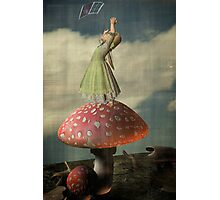 Alice...she can get high  Photographic Print
