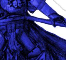 Warhammer 40k Night Lords Inspired Trooper - Blue Sticker