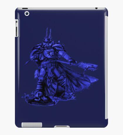 Warhammer 40k Night Lords Inspired Trooper - Blue iPad Case/Skin