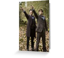 Doctor Who 50th Greeting Card