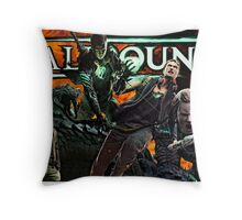 ScaleBound Graphic Design Throw Pillow