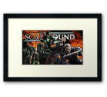 ScaleBound Graphic Design Framed Print
