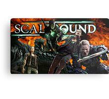ScaleBound Graphic Design Metal Print