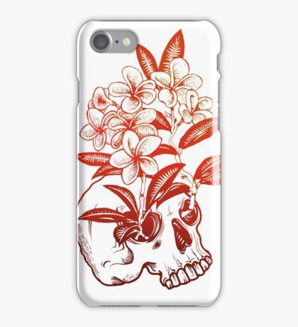 Red Skull  iPhone Case/Skin