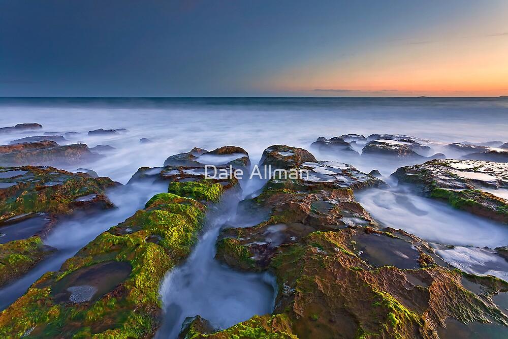 Misty Waters of Boomer Beach by Dale Allman