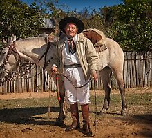 A Man and his Horse by photograham
