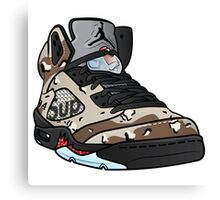 SUPREME CAMO 5s Canvas Print
