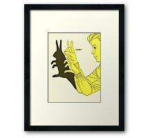 Run Rabbit Run : Such a Good Boy Framed Print