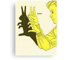 Run Rabbit Run : Such a Good Boy Canvas Print
