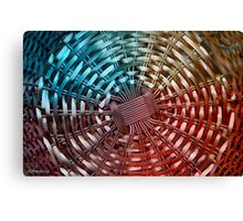 METAL BASKET Canvas Print