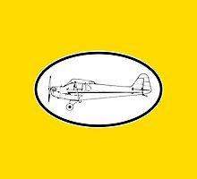 Piper J-3 Cub by vidicious