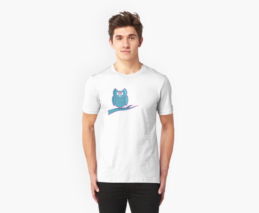 Owl T-Shirt by Pamela Maxwell