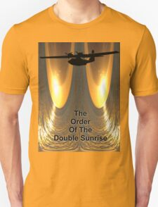 The Order Of The Double Sunrise Design T-Shirt