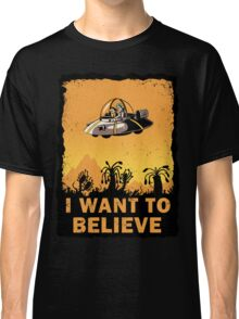 I Want to Believe, Morty Classic T-Shirt