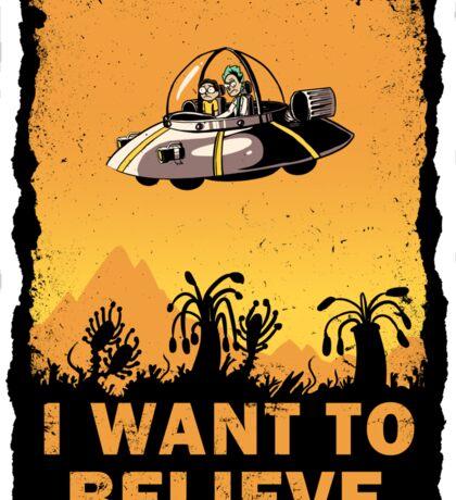 I Want to Believe, Morty Sticker