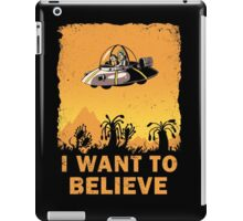 I Want to Believe, Morty iPad Case/Skin