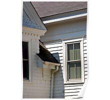 Chatham Window - Chatham, Cape Cod, Massachusetts Poster