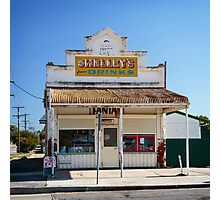 The Corner  Shop Photographic Print