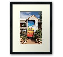 Occupied  Framed Print
