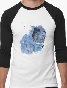 Geometric Chloe - Life Is Strange Inspired Men's Baseball ¾ T-Shirt