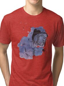 Geometric Chloe - Life Is Strange Inspired Tri-blend T-Shirt