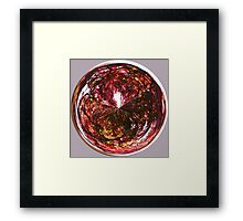 Autumn in the round Framed Print