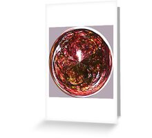 Autumn in the round Greeting Card