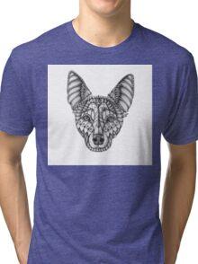 Ornate Australian Kelpie Tri-blend T-Shirt