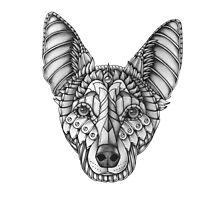 Ornate Australian Kelpie by psydrian