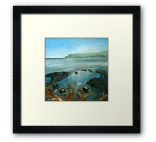 North Yorkshire Coast Framed Print