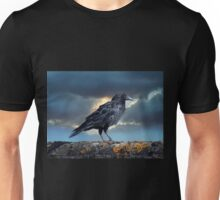 Rook on the Roof. Unisex T-Shirt